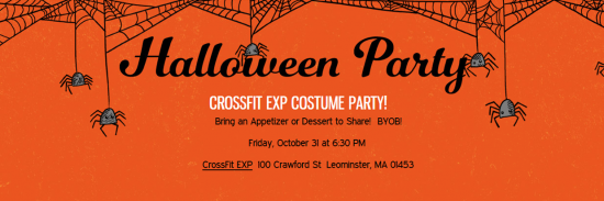 exp halloween party